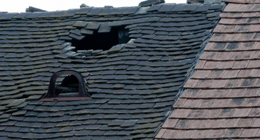 Läckande tak