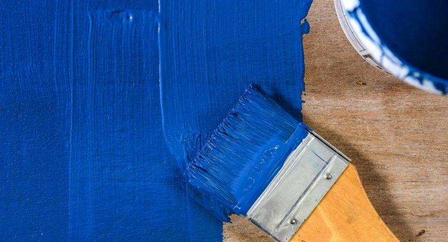 Blå färg